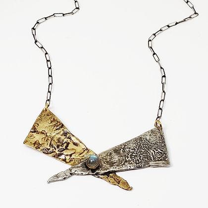 Warrior Necklace w/ Labradorite