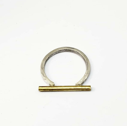 Minimalist Tube Ring