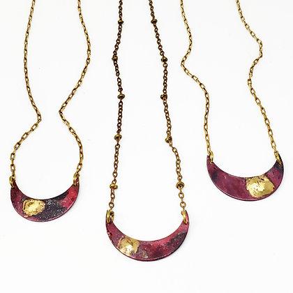 Moon Galaxy Necklace