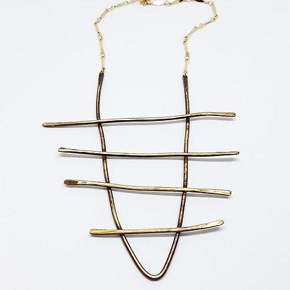 Wonky Ladder Necklace