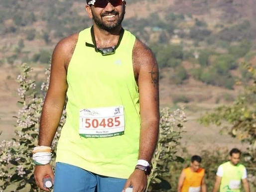TUM....HUM AUR RUM (My Blog on Tata Ultra Marathon - 50kms)