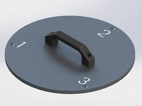 VTube-LASER Leapfrog Plate