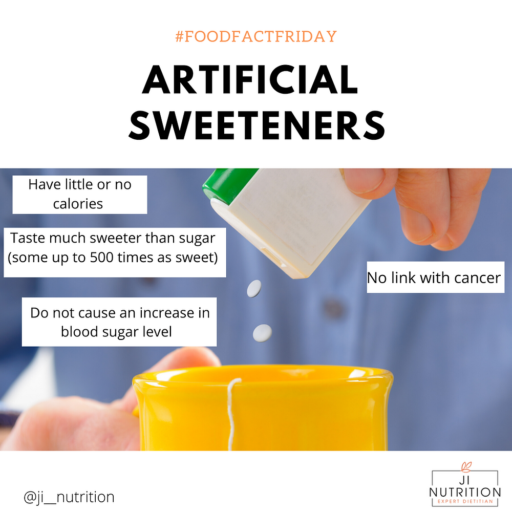 Facts about Artificial sweeteners