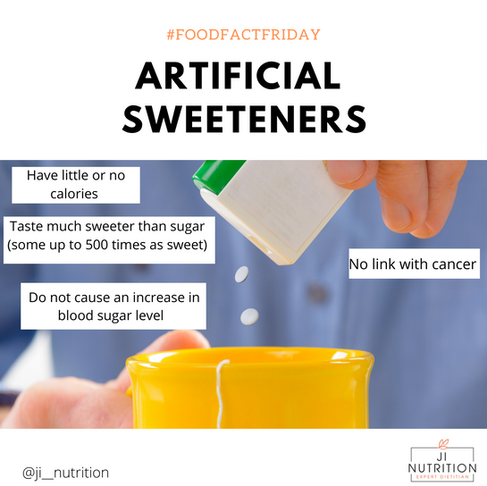 Artificial sweeteners- are they safe?