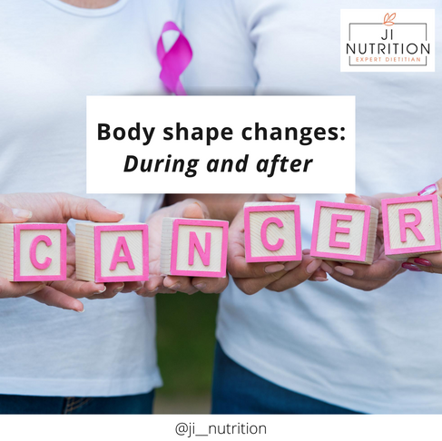 Body shape changes: During and after cancer treatment