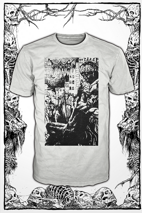 DISGORGED - BREED  (WHITE T SHIRT)