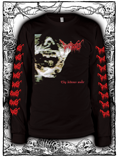 DISGORGED - Thy Hideous Wake Long Sleeve (BLACK)