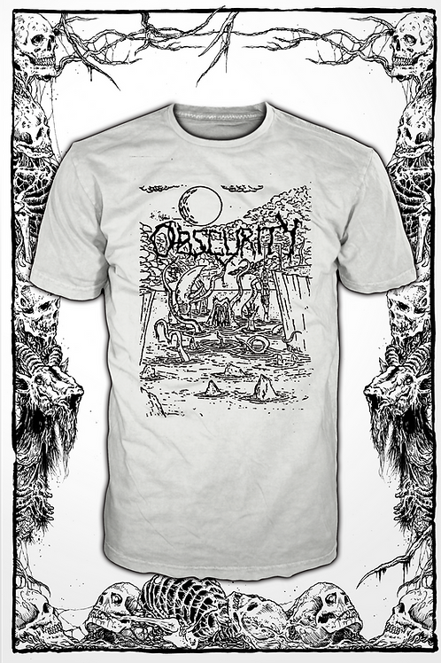 OBSCURITY - WHITE T