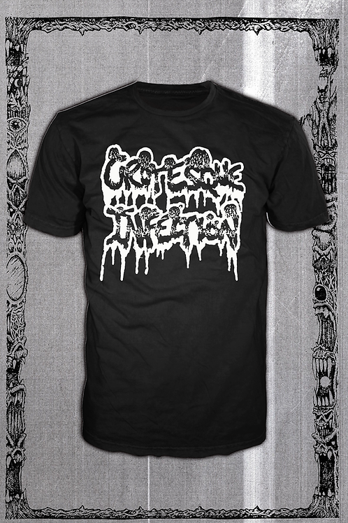 GROTESQUE INFECTION LOGO BLACK