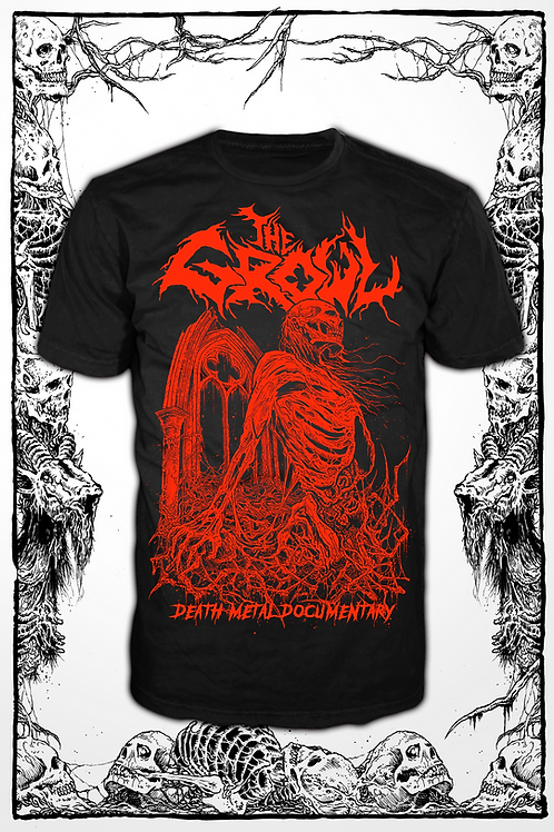 THE GROWL (BLACK SHIRT red ink) new design