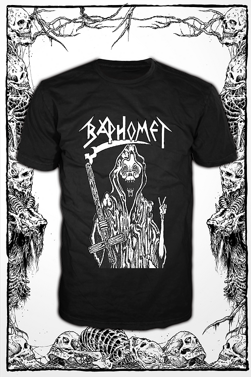 BAPHOMET- Battle black T