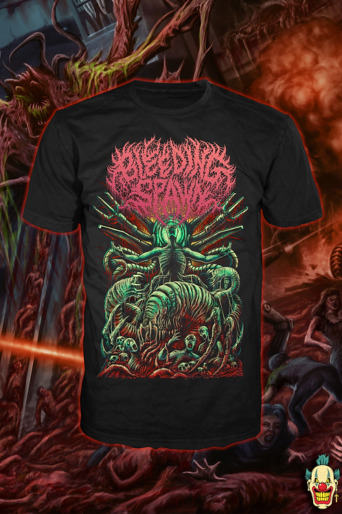 BLEEDING SPAWN Abomination Red T