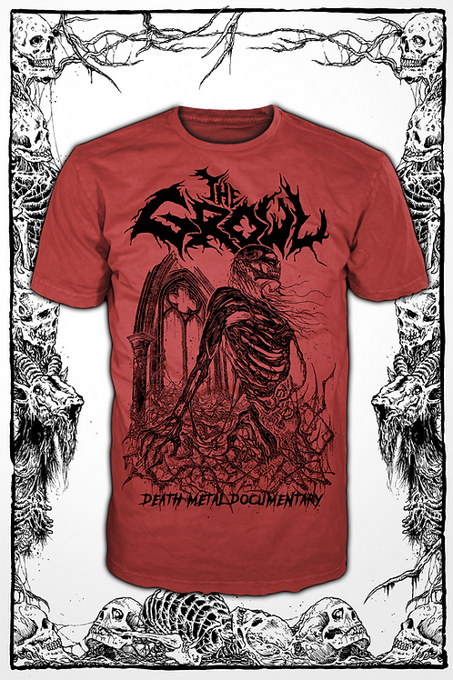 THE GROWL (RED SHIRT) new design