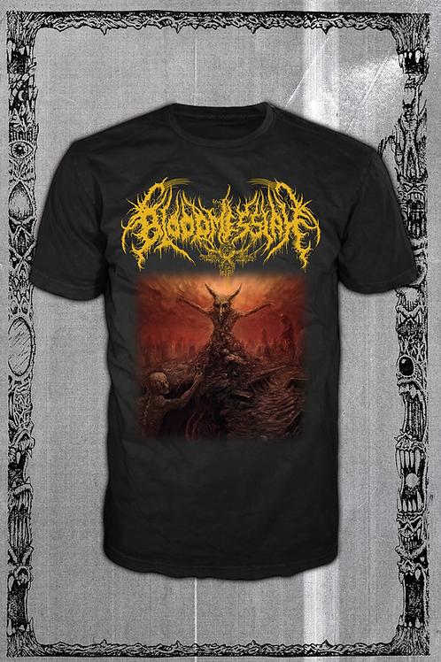 BLOODMESSIAH Cryptic Perversions 2 Yellow logo