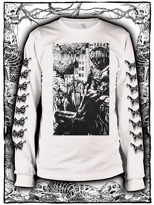DISGORGED - BREED - WHITE LONG SLEEVE