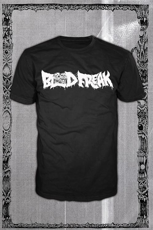 BLOODFREAK Black T Logo