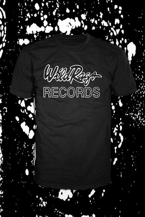Wild Rags Records logo  T black