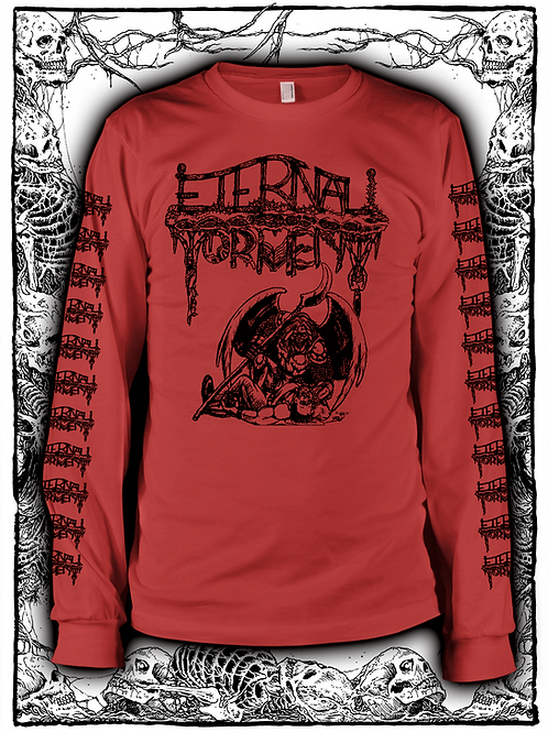 ETERNAL TORMENT- Downfall of Human Existence Long Sleeve