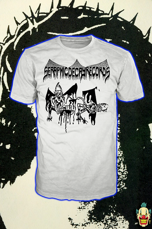 SERAPHIC DECAY WHITE T