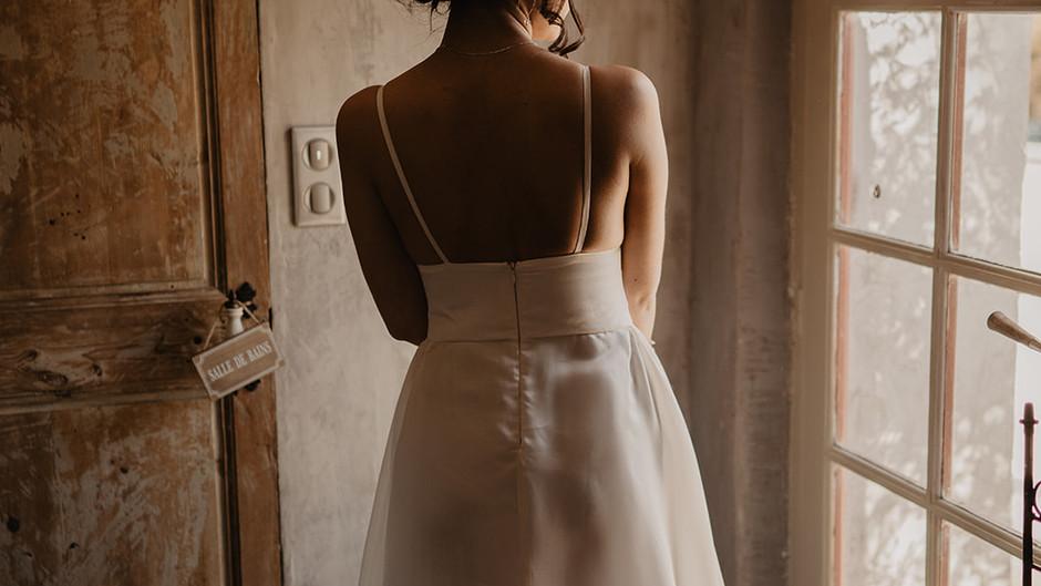 Vu par les hommes ... La robe de mariée.
