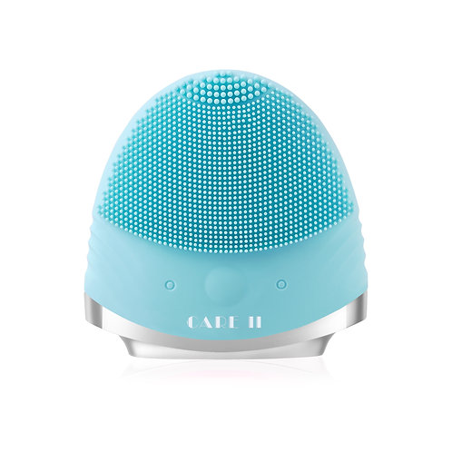 Blue T-Sonic facial cleansing massager