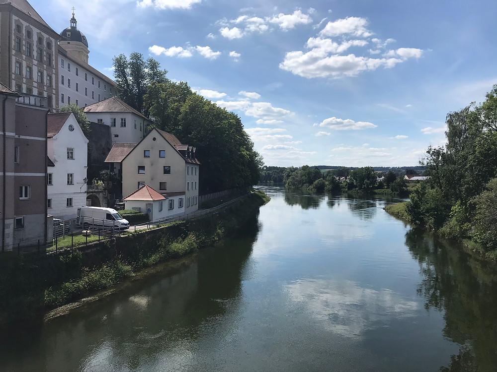 Ankunft in Neuburg an der Donau