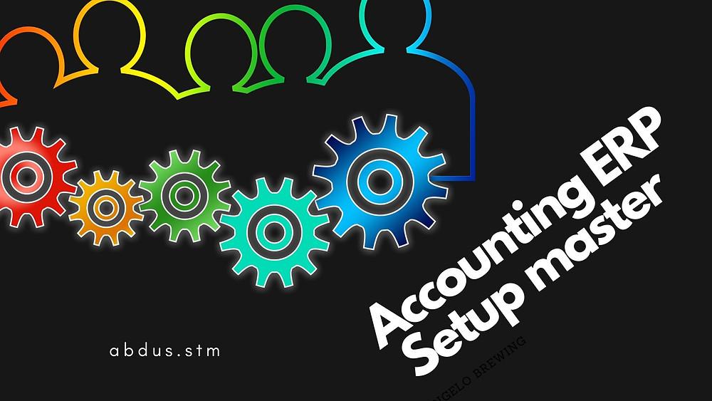 Accounting setup, Chart of Accounts, Book Keeping