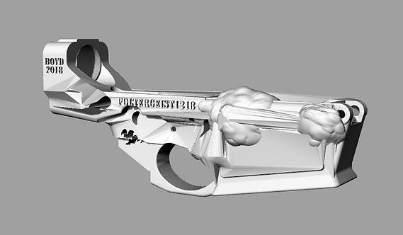 Poltergeist1218 Disabled Assault Rifle Lower Reciever Sculpture File