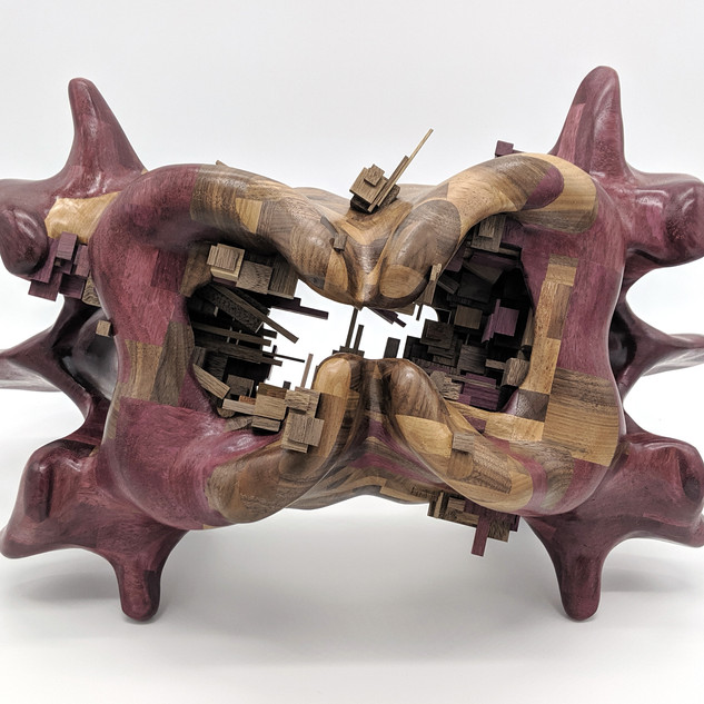 Untitled (double vertebrae)