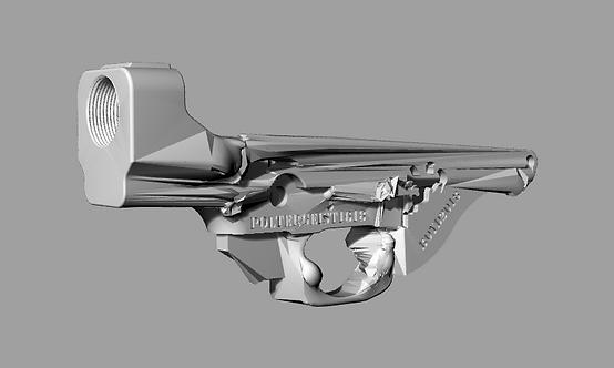 Poltergeist1618 Disabled Assault Rifle Lower Reciever Sculpture File