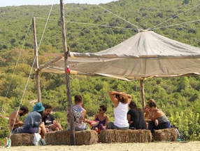 The Vegan Life Festival for a three-day seminar with Free and Real in North Evia