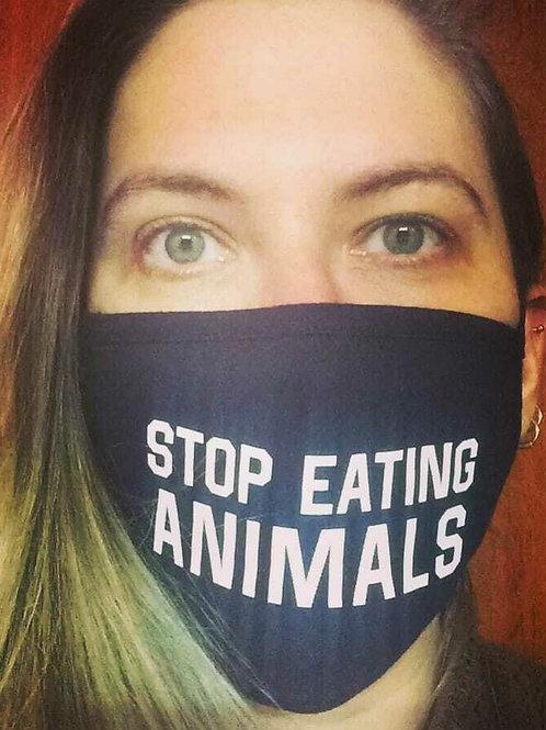 Μάσκα STOP EATING ANIMALS