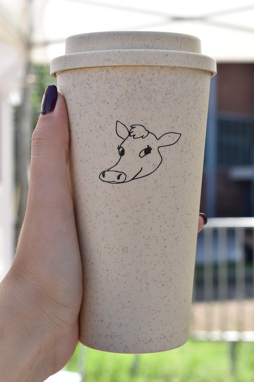 Glass of Coffee - Cow