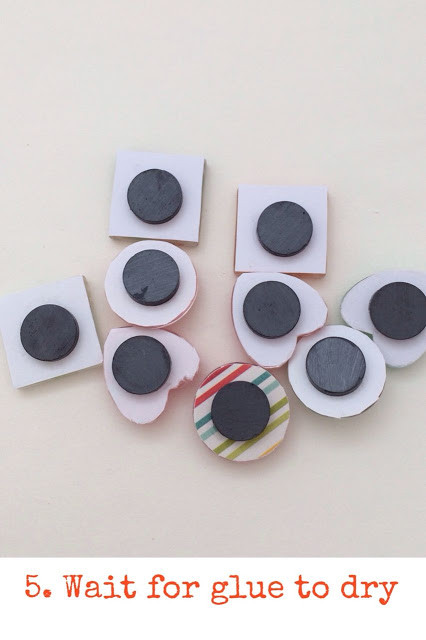 WahSoSimple DIY Craft Kit Glass Marble Magnets