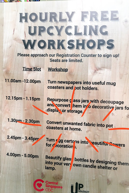 wahsosimple upcycling workshop