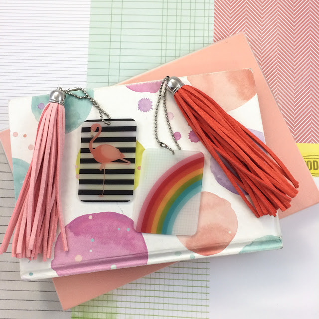 WahSoSimple DIY Craft Shrink Art and Suede Tassel