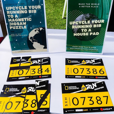 Event: NatGeo Earth Day Run 2017: Upcycling Running Bibs