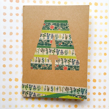 DIY Craft: Decorating Your Notebooks With Washi Tape