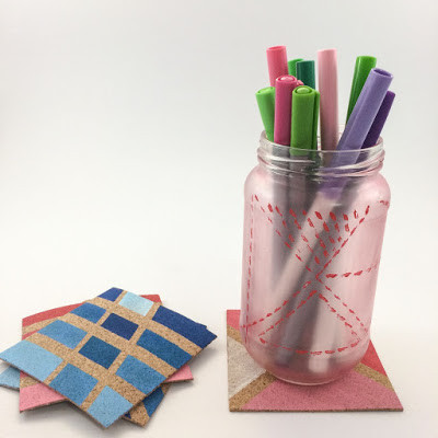 WahSoSimple DIY Craft Coasters