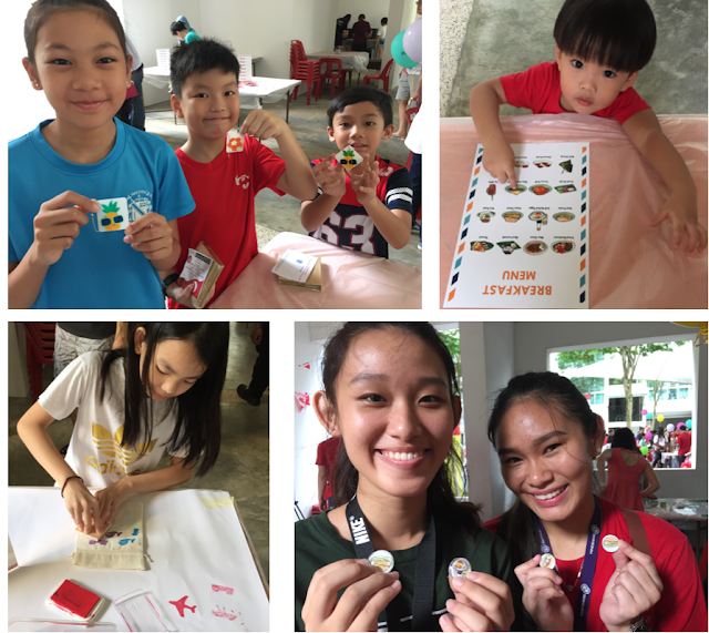 WahSimple Crafting at Community Event