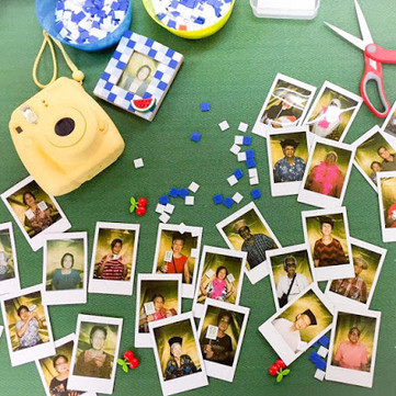 Craft Workshop: Making a Mosaic Photo Frame With Seniors