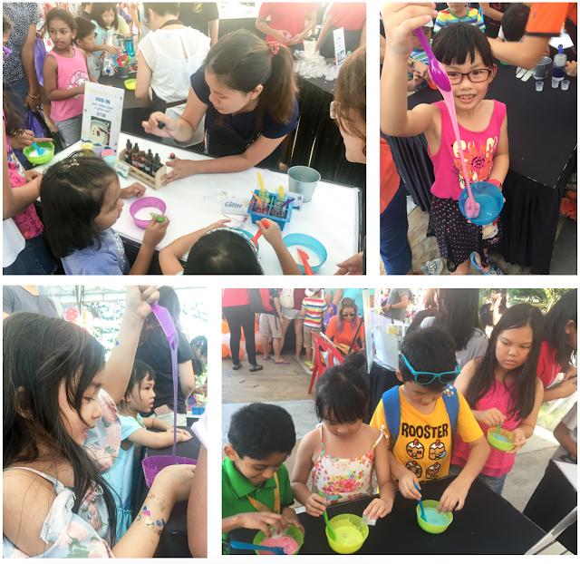 WahSimple Slime Crafting at Community Event