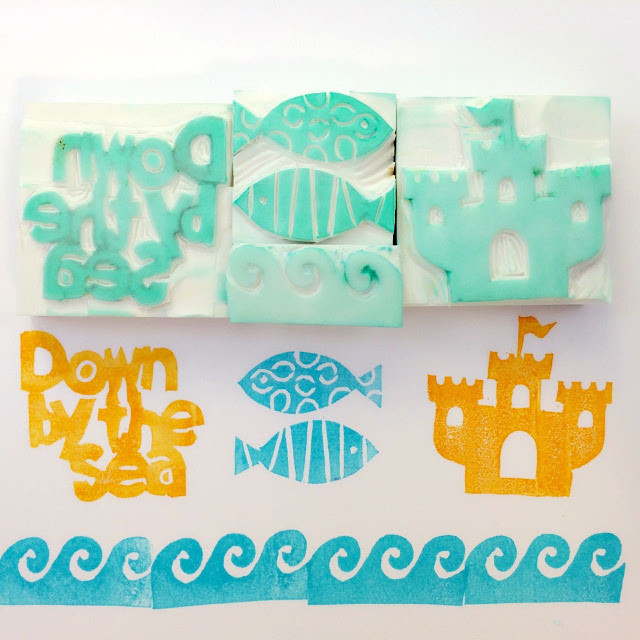 WahSoSimple Rubber Stamp DIY Craft