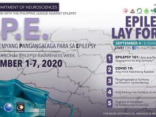 19th National Epilepsy Awareness Week