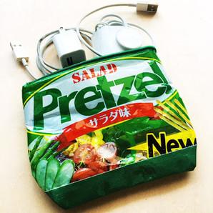 wahsosimple upcycling plastic zipper pou