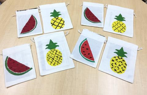WahSoSimple Paint a Watermelon Pouch