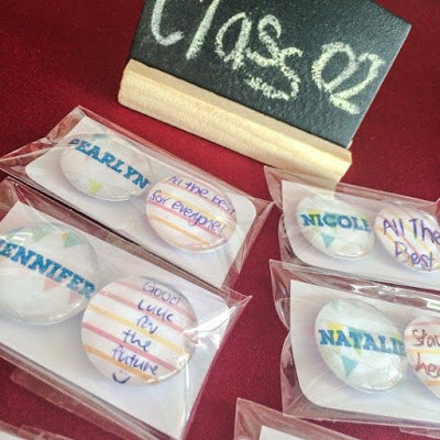 WahSoSimple Customised Glass Marble Magnets