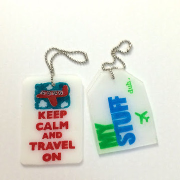 DIY Craft: Shrink Plastic Bag Tags