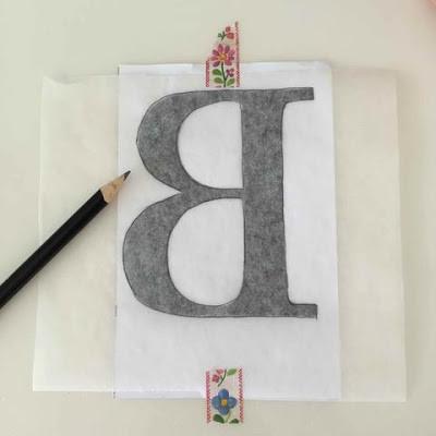 WahSoSimple Monogrammed Notebook Washi Tape