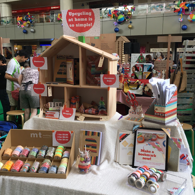 wahsosimple upcycling booth